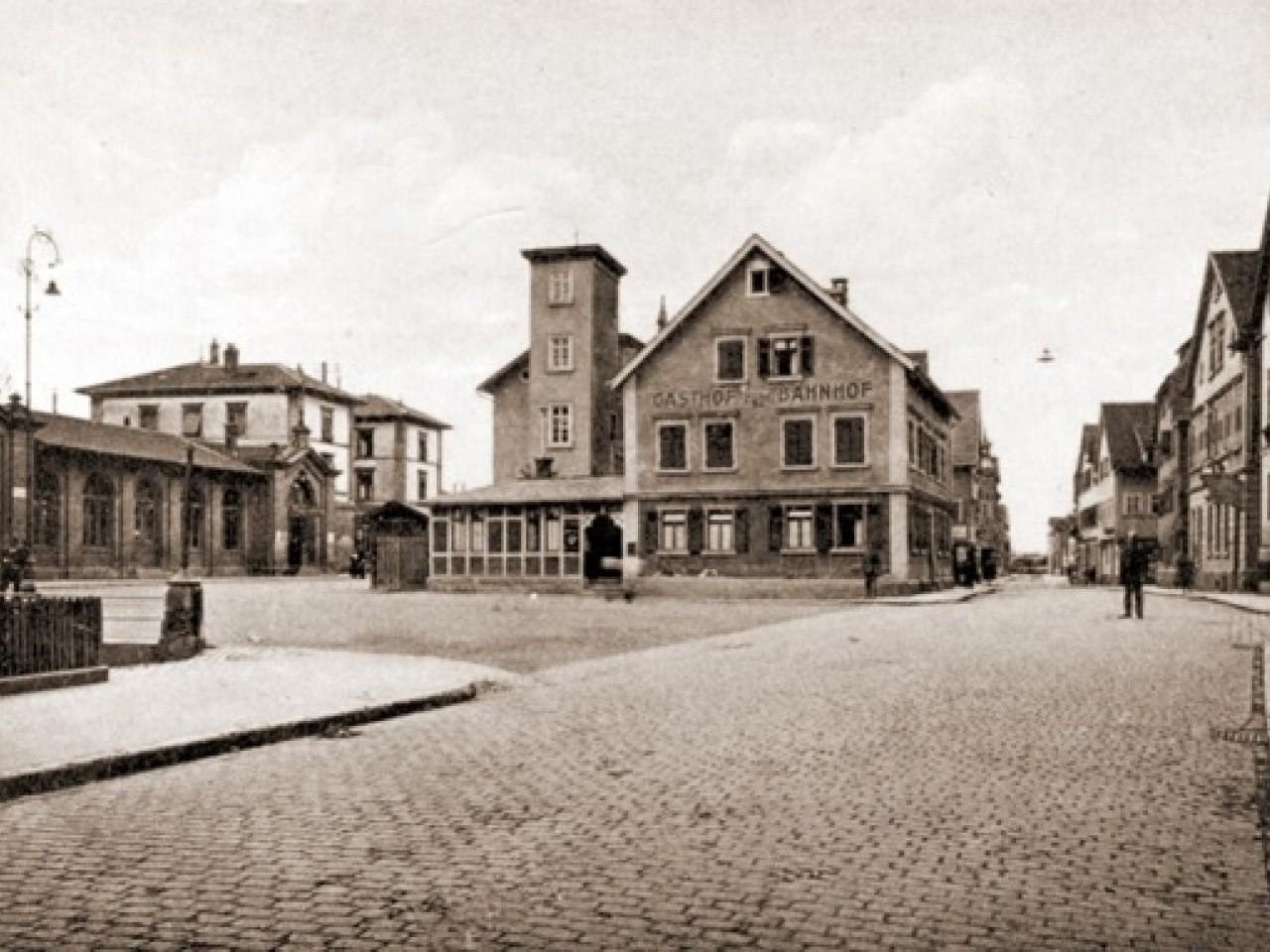 Ein imposamter Ortskern in Untertürkheim