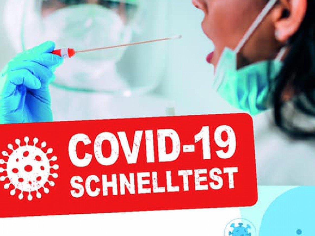 COVID-19 Schnelltest - Testergebnis in 15 Minuten