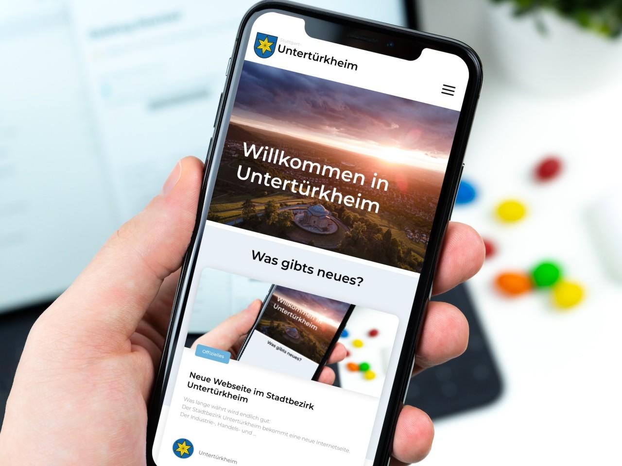 Neue Webseite für Untertürkheim ist online!